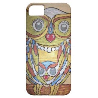 Metallic Owl IPhone Case iPhone 5 Case