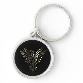 Metallic Phoenix Keychain