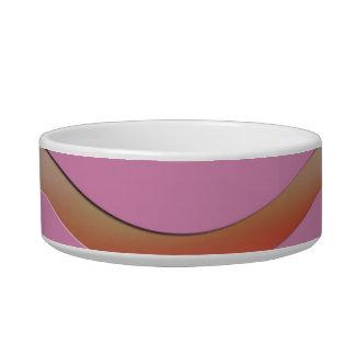 Metallic Pink Waves