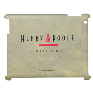 Metallic Plaster Interior Designer iPad Case For The iPad 2 3 4