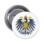 Metallic Preussian Eagle Button