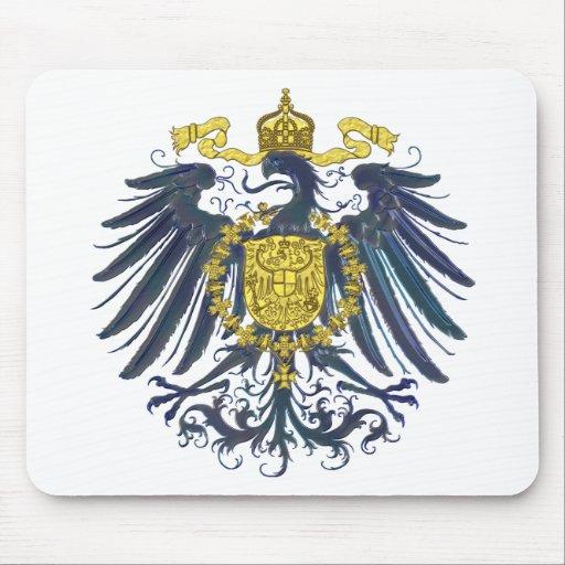 Metallic Preussian Eagle Mouse Pad
