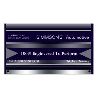 Metallic Pro-Form Business Card Template