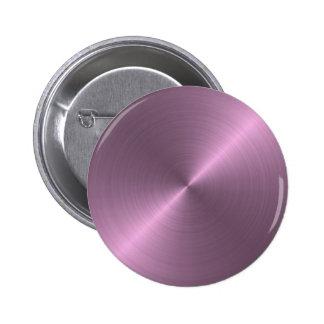 Metallic Purple 2 Inch Round Button
