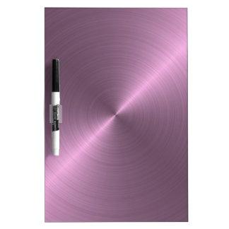 Metallic Purple Dry-Erase Board