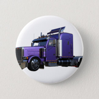 Metallic Purple Semi Truck In Three Quarter View Button