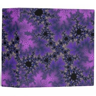 "Metallic Purple Speckle 2"" Binder"
