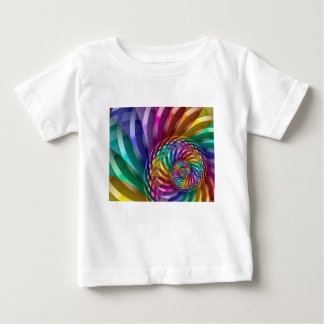 Metallic Rainbow Baby T-Shirt
