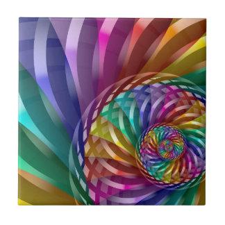Metallic Rainbow Ceramic Tile
