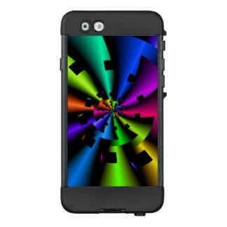 Metallic Rainbow Fractal LifeProof® NÜÜD® iPhone 6 Case
