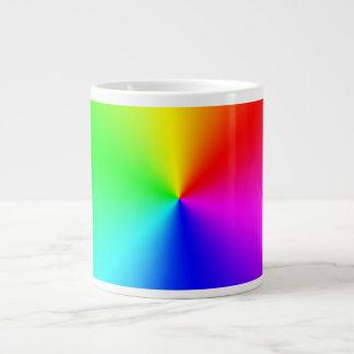 Metallic Rainbow 20 Oz Large Ceramic Coffee Mug