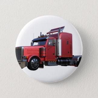 Metallic Red Semi TruckIn Three Quarter View Button