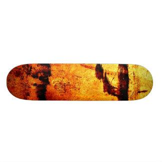 """""""Metallic Red Stain"""" JTG Art Skateboard"""
