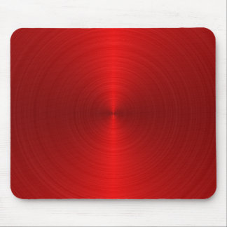 Metallic Red Style Mouse Pad