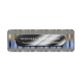 Metallic Reflections and Nameplate ID287 Label