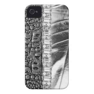 Metallic Rhinestone Case Mate IPhone4 Barely Case