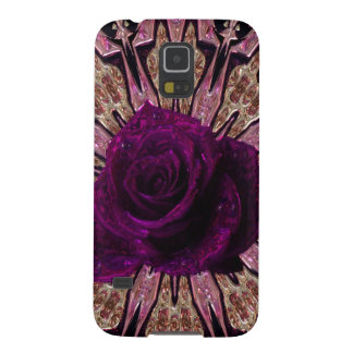 """Metallic Rose Abstract""device/skins/cases"".* Galaxy S5 Covers"