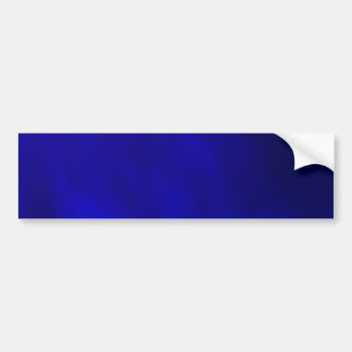 Metallic Royal Blue Bumper Sticker