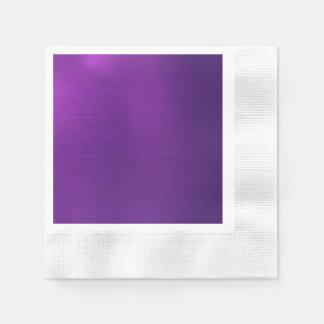 Metallic Royal Purple Napkin