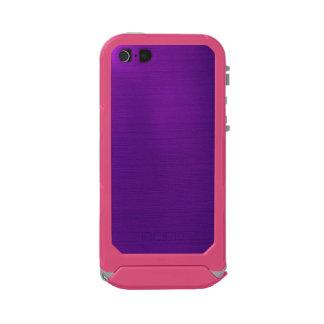 Metallic Royal Purple Waterproof iPhone SE/5/5s Case