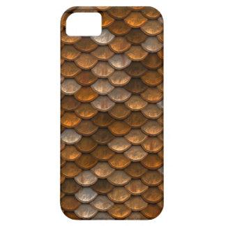 Metallic Scales Print iPhone SE/5/5s Case