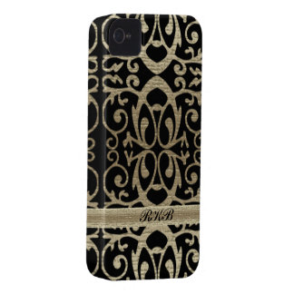 Metallic Scrolls Case-Mate iPhone 4 Case