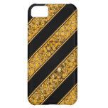 Metallic Snake Stripes Case For iPhone 5C