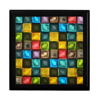 Metallic Squares Gift Box