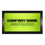 Metallic Stainless Metal Modern Steel Border #2 Business Card
