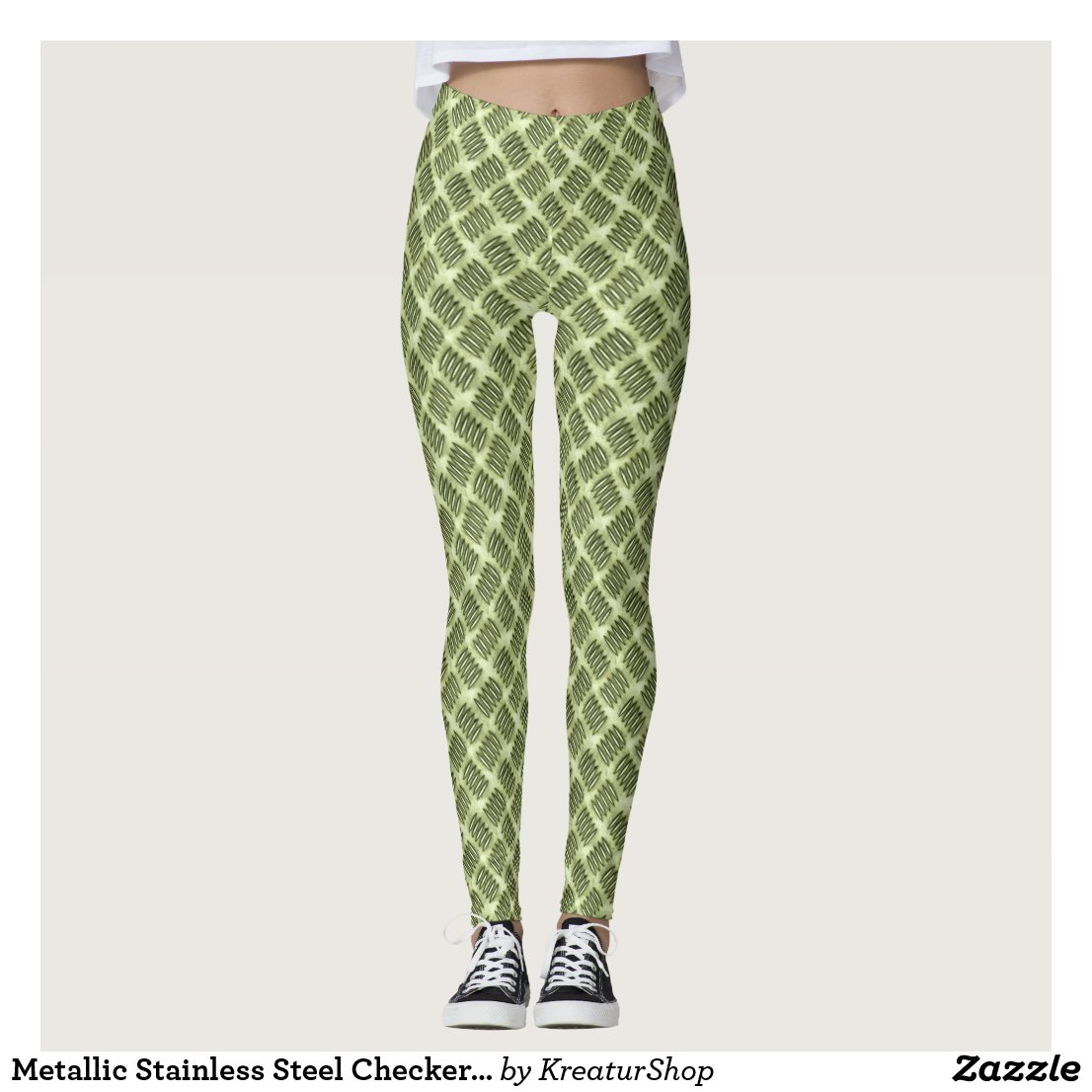 Metallic Stainless Steel Checkered Board