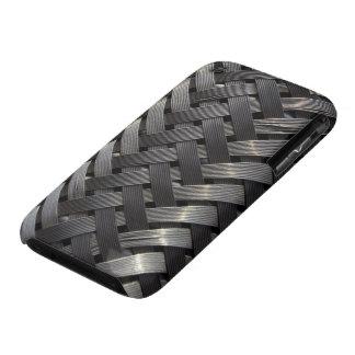 Metallic Steel Weave iPhone 3 Case-Mate Case