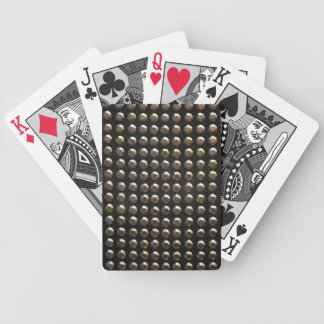 Metallic Studs Pattern Deck Of Cards