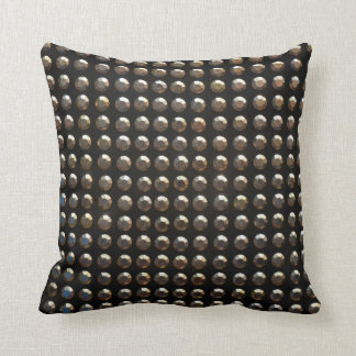 Metallic Studs Pattern Throw Pillow