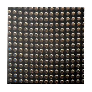 Metallic Studs Pattern Ceramic Tile