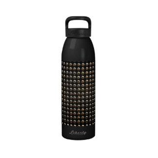 Metallic Studs Pattern Drinking Bottle