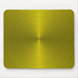 Metallic Style Mouse Pad In Gold