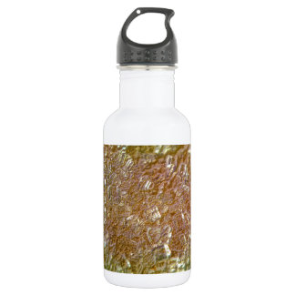 Metallic Sugar Crystals Stainless Steel Water Bottle
