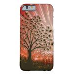 Metallic Sunset Tree In The Sun iPhone 6 Case
