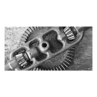 Metallic tool card