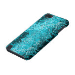 Metallic Turquoise Sequins Look Disco Mirrors iPod Touch (5th Generation) Cover