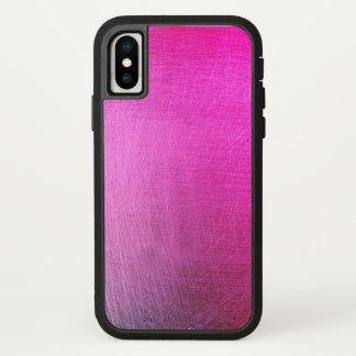 Metallic vibrant iPhone x case