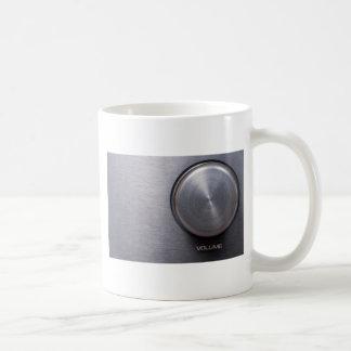 Metallic Volume Knob Coffee Mug