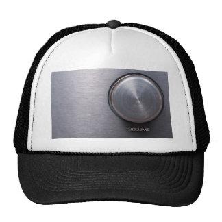 Metallic Volume Knob Hat