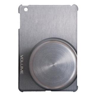 Metallic Volume Knob iPad Mini Cover