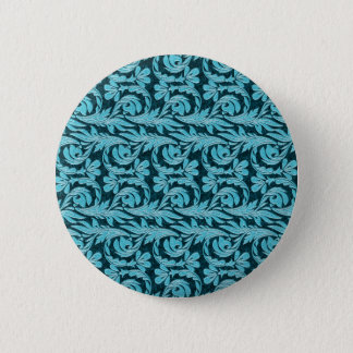 Metallic Waves 2Tone Teal Drk BUTTON