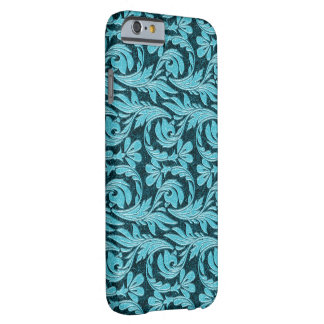 Metallic Waves, Two Toned Drk Teal-iPhone 6 Case