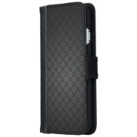 Metallic Wiry Mesh Chequered Pattern iPhone 6 Wallet Case