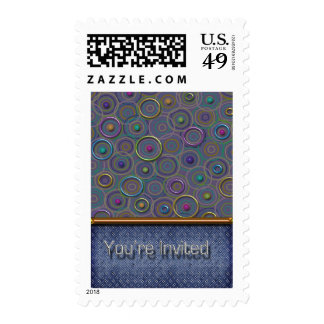 Metallica 3D Circles & Tread You're Invited Stamps