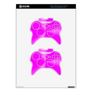 Metallica brushed Pink Xbox 360 Controller Skins