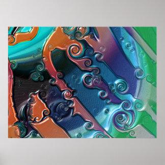 Metallicious2 Print